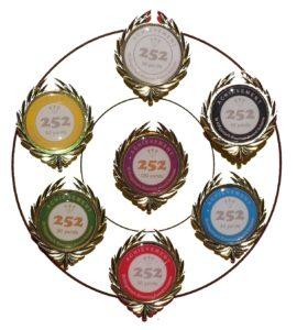 Far set of 252 badges